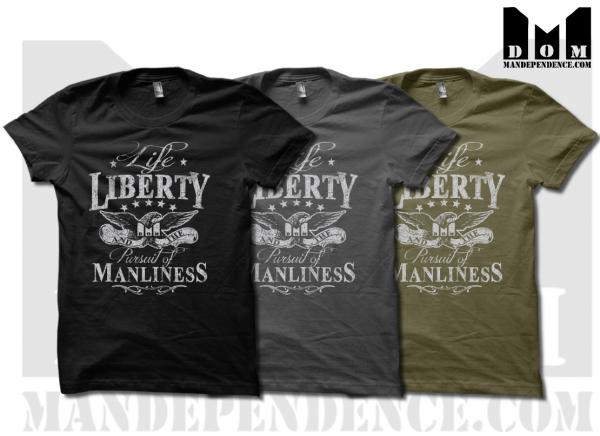 Mandependence LLPM t shirts