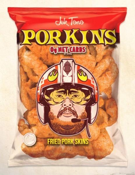 Jek Tono Porkins Pork Skins