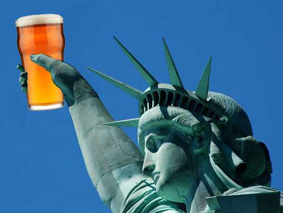 statue of liberty beer me 4th of July Beer Recommendations  photo