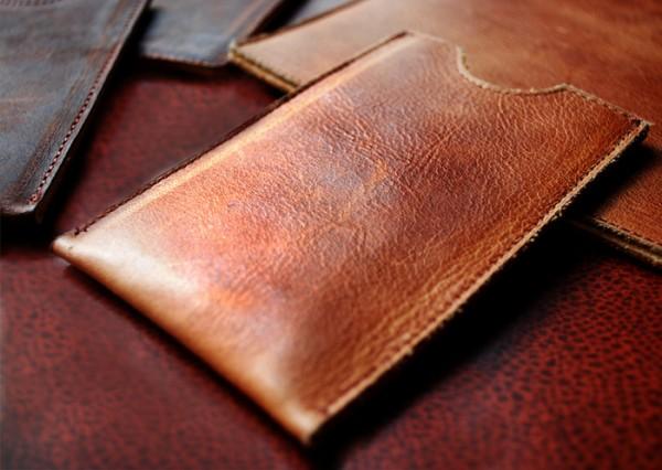 Antigua Leather iphone case